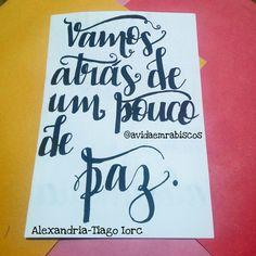 Lettering alexandria-Tiago Iorc