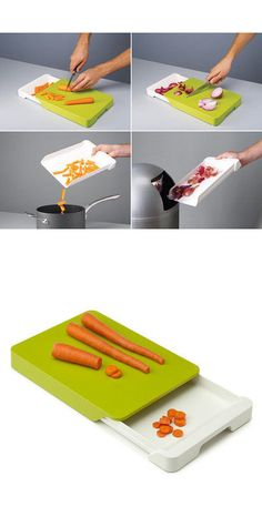 Collect n' Chop Cutting Board