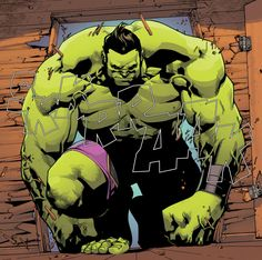 Totally Awesome Hulk (Amadeus Cho) | art by Mahmud Asrar
