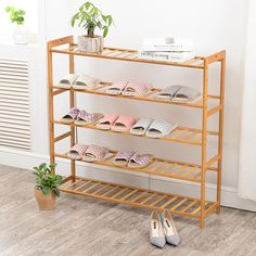 (Buy here: http://appdeal.ru/1z4z ) Shoe Racks Bamboo Assembled Type Solid Wood Multilayer Special Offer Shoe Hanger Room Natural Wood Household Shelves for just US $49.99