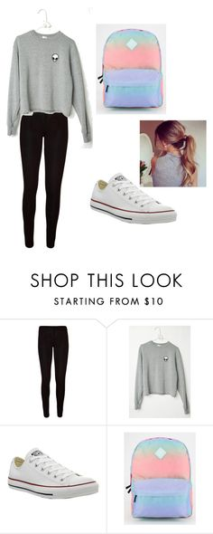 """Untitled #11"" by kxthxrinx ❤ liked on Polyvore featuring WearAll, Converse and Vans"