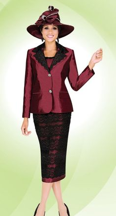 Ben Marc Fifth Sunday 52743 Womens Lace Church Suit