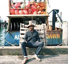 Dustin Franks: Danny Clinch for Outside magazine, September 2011