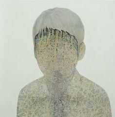 Eisuke SATO  S.F.N  2009  Acrylic on canvas  130.3 x 130.3cm