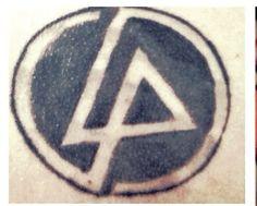 My Linkin Park tattoo. :) (it needs work) ~A.B.M.~