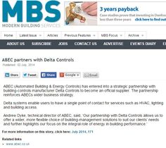 ABEC partners with Delta Controls