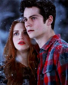 Teen Wolf - Stiles and Lydia 💓 Teen Wolf Stiles, Stiles Y Lydia, Teen Wolf Stydia, Teen Wolf Mtv, Teen Wolf Boys, Teen Wolf Dylan, Teen Wolf Cast, Dylan O'brien, Charlie Carver