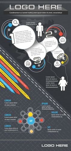 Infographic templates, UX/UI Designer and Infographic on Pinterest