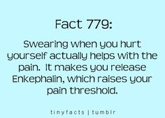 That's my new excuse! I'm trying to make the pain go away! :)