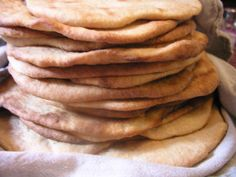 Yeasted Whole Wheat Flatbread