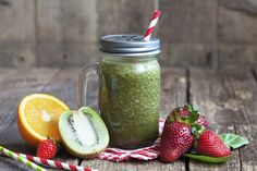 How to Make A Satisfying Breakfast Blast: Having a smoothie for breakfast can provide a convenient, nutritious start to the day or it can give you a sugar surge, leaving you tired and hungry after 15 minutes. Nutribullet Recipes, Fruit Smoothie Recipes, Avocado Smoothie, Juice Smoothie, Healthy Smoothies, Healthy Drinks, Healthy Recipes, Vegetable Smoothies, Healthy Cooking