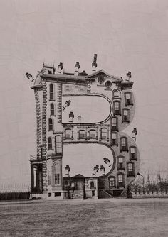 Typography collages transform letters into buildings | Creative Bloq