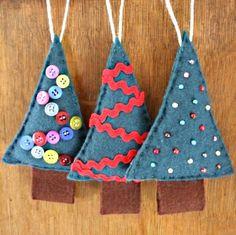 Christmas tree decs tutorial - result | Flickr - Photo Sharing!