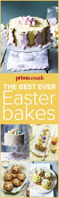 From homemade hot cross buns to the cutest ever Easter cupcakes, choose from our delicious collection of Easter cakes and bakes, to make Easter Sunday go off with a bang! Find more easy recipes and food ideas over on prima.co.uk