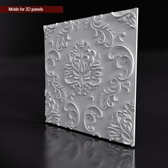 Mold for panels 3d Tiles, 3d Wall Decor, 3d Wall Panels, Ceiling Tiles, 3 D, 3d Printing, Paper Crafts, Carving, Tapestry