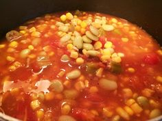 Margaret Holmes Five Can Vegetable Soup is easy and packed full of flavor! This soup features our signature Tomatoes, Okra & Corn and Triple Succotash.