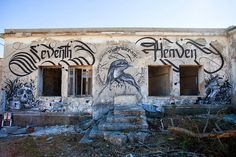 "431g. ""Seventh Heaven"" Mural by Kraser Tres and Simon Silaidis in Athens, Greece - Design You Trust - Social Inspirations!"