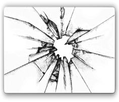 looking for sketch of shattered glass....like this