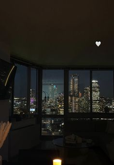 City View Apartment, Dream Apartment, New York Life, Nyc Life, Night Aesthetic, City Aesthetic, Living In New York, City Living, Apartamento New York