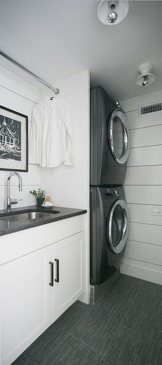Optimize your small space & learn trick how to organize your dryer sheets, laundry room cabinet & other laundry room essentials Laundry Room Shelves, Laundry Room Remodel, Laundry Room Cabinets, Laundry Room Bathroom, Laundry Room Organization, Laundry Closet, Bathrooms, Modern Laundry Rooms, Laundry Room Inspiration