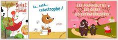 Les albums coups de cœur album de Marianne pour mai 2014 : Ca…caca…catastrophe de Catherine Leblanc et Laurent Richard (l'Élan Vert) : http://lamareauxmots.com/blog/au-parc-et-sur-une-planete/ Le secret le plus fort du monde de Gaël Aymon et Pauline Comis (Ricochet) : http://lamareauxmots.com/blog/approchez-jai-des-secrets/#2 Les mammouths, les ogres... d'Alex Cousseau et Nathalie Choux (Tom Poche) : http://lamareauxmots.com/blog/percons-les-secrets-des-livres/