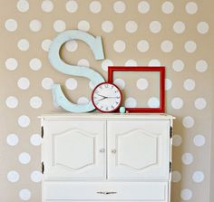 "Polka Dot Wall Decals - (200) 2"" Polka Dots - Vinyl Wall Stickers Decals - Choose up to 5 Colors - You will receive 40 dots of each color"
