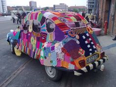 Peace, love and a knitted volkswagen. What a great world we live in :)