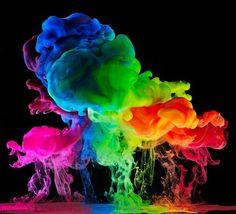 Aqueous Rainbow Skies