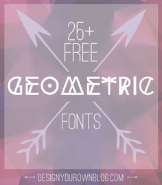 There's definitely a trend of these crazy-cool fonts right now. A rash of…