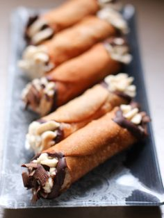 Homemade Cannoli Recipe! These look and sound absolutely delicious!