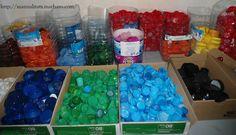 Classificació de taps per colors i mides
