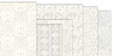 Wallpaper fog grey and ivory for dollhouses by LolittleMiniatures Antique Wallpaper, Arts And Crafts House, Dollhouse Ideas, Floral Stripe, How To Dye Fabric, Dollhouses, Ivory, Handmade Gifts, Floor