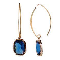 Sapphire bezel on gold $59