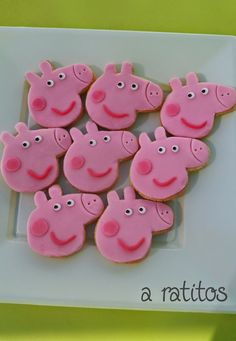 galletas mesa dulce pepa pig http://enmisratitos.blogspot.com.es/search?updated-max=2014-07-29T12:09:00+02:00