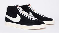 reputable site 6fb13 166c0 Nike Blazer Vintage - Black  really want one of this ! Nike Blazer Black