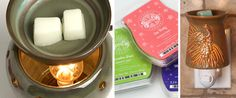 Using your new Scentsy warmer is simple! Our authentic Scentsy warmers use a low-watt bulb to slowly melt specially formulated wax.     With no flame, smoke, or soot, the Scentsy wickless candle system is a safe way to enjoy Scentsy fragrances.