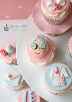 Spa Cupcakes All vanilla.