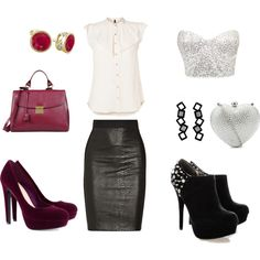 from office to party. outfit #5