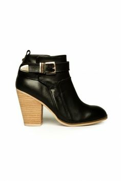 Osprey Ankle Boot in Black by Report Signature
