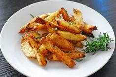 Baked Rosemary Garlic Fries