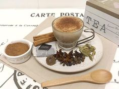 Té Chai latte casero-Chai tea latte homemade