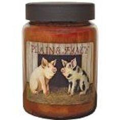 Plain Fancy Pigs 26oz Jar Candle