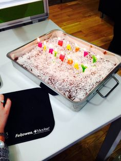 Huge birthday cake by @modeofstyle for Ella and Emil #ZealTreats #LifeatZeal #Cake