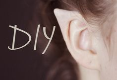 How to make elf ears, looks like a great blog