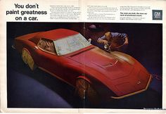 1968 Chevrolet Corvette Advertising Road & Track May 1968
