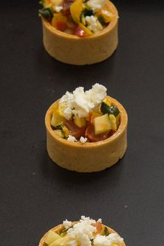Ratatouile Tartlet w