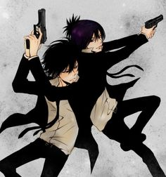 Hibari and Mukuro
