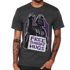 Star Wars Darth Vader Throat Hugs Shirt