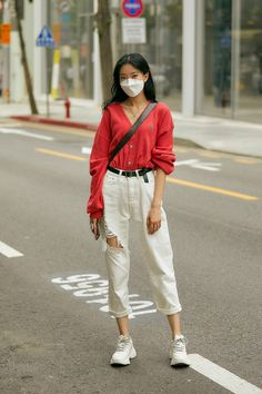 Tokyo Street Fashion, Seoul Street Style, Asian Street Style, Seoul Fashion, Autumn Street Style, Street Style Women, Korean Casual Outfits, Korean Fashion Summer Street Styles, Korean Girl Fashion