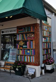 Cat's Meow Bookstore   =^..^=